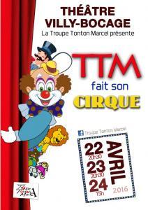2016 - TTM fait son Cirque